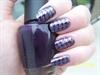 Purple and Black Konad