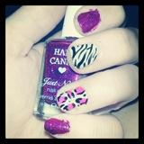 Zebra glitter :]
