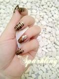 My Golden Bling Zebra