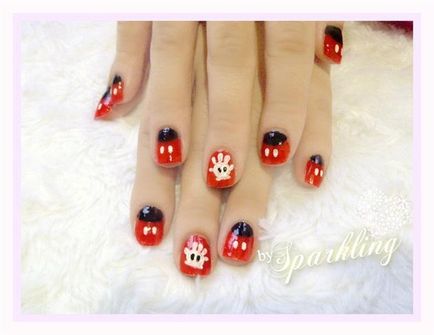 Mickey Mouse Nail Nail Art Gallery