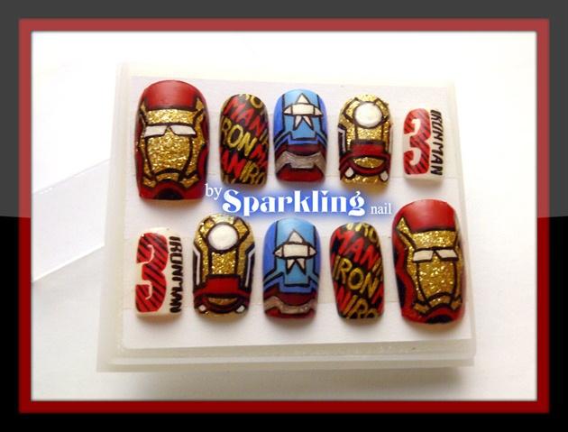 Iron Man 3 Nail