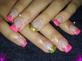 Pink,Gold