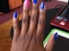 Pink, Blue