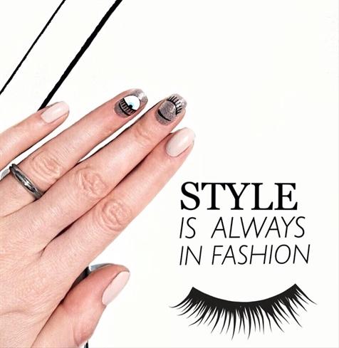Inspired by Chiara Ferragni - incredible Italian blogger and designer