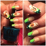 May flower nail art