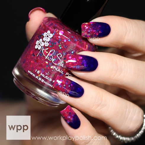 Glitter Jelly Gradient by workplaypolish