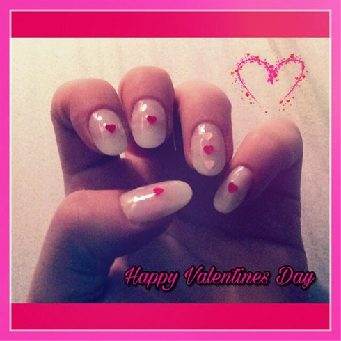 Valentines Day Nails💋