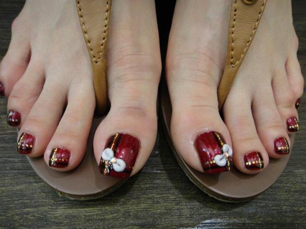 Pretty Feet Nail Art Gallery
