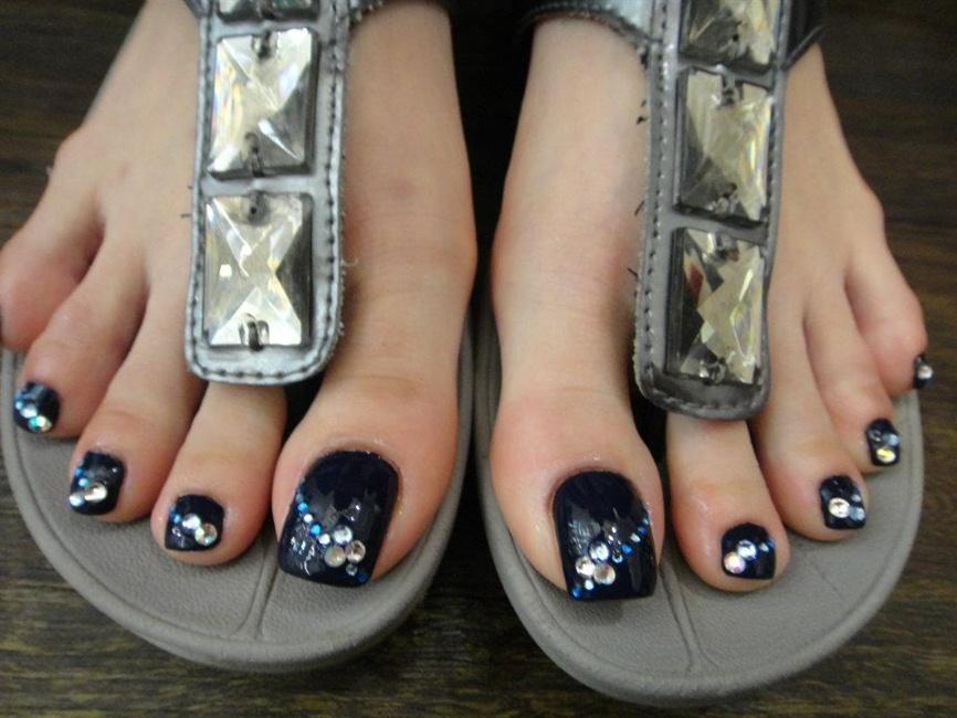 Priscilla feet - Nail Art Gallery