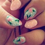 Floral and Polka Dots