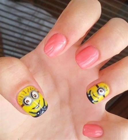 Despicable me -  Minions manicure