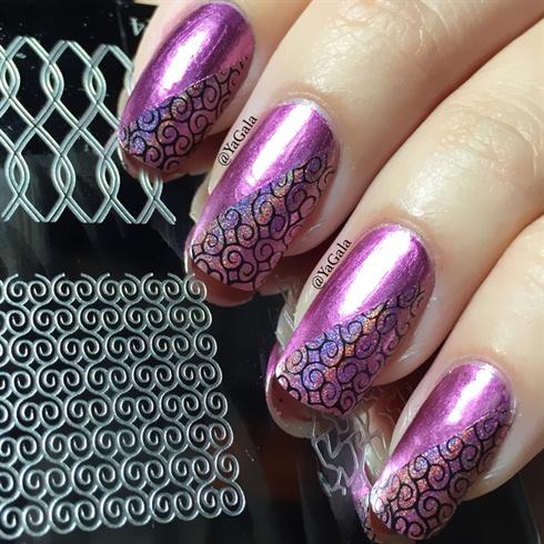 Stamping Nail Design Nail Art Gallery
