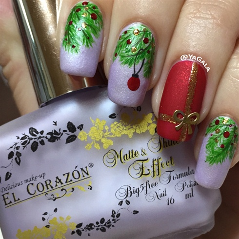 holidays are coming  nail art gallery