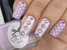 nail art: Pastel 💜
