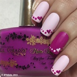 Easy Valentines Nails