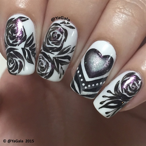 Anti Valentines Day Nails