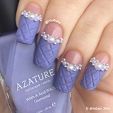 Quilted Nail Design