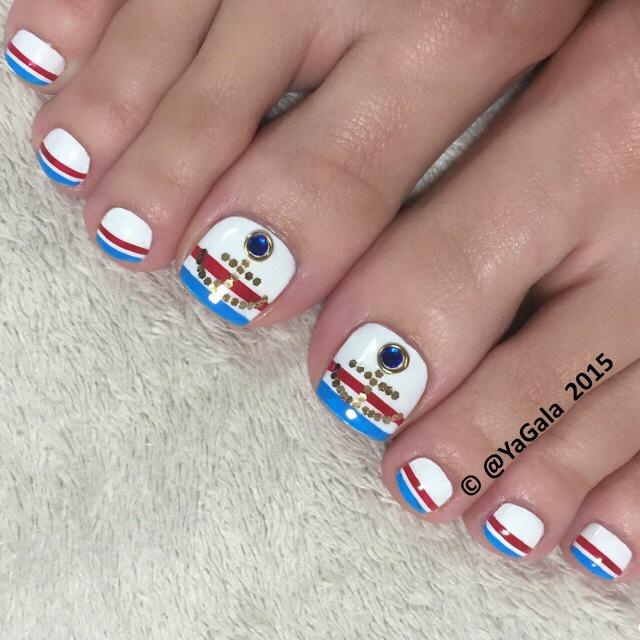 Toe Nail Art Tutorials: Nail Art Gallery
