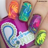 Neon Swirls