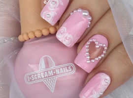 nail art: Romantic Nail Design