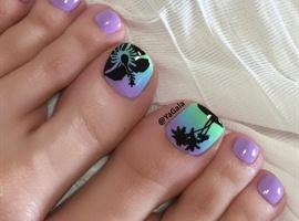 nail art: Toe Nail Art