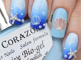 nail art: Under The Sea