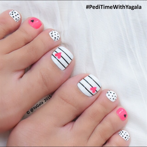 Toe nail art nail art gallery toe nail art prinsesfo Images