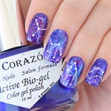Galaxy Nail With Zodiac Constellation