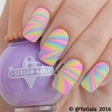 Pastel Neon Watermarble