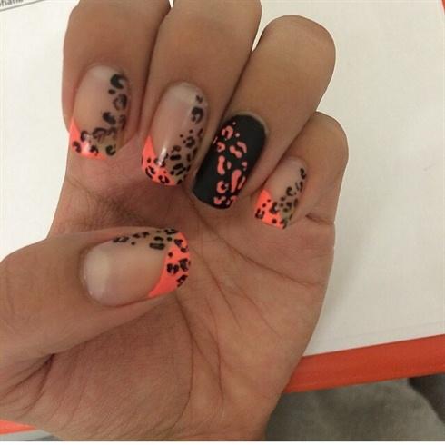Fun Leopard Nails