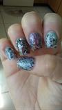 Multi Glitter Nails