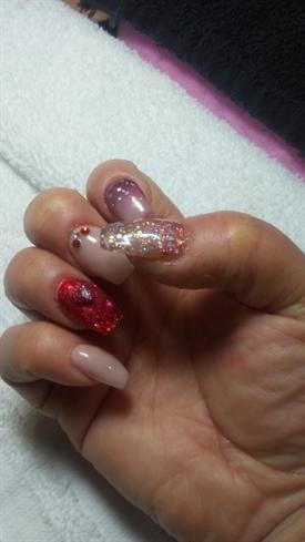 Glitter & 3d