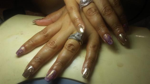 Glitter and Chrome