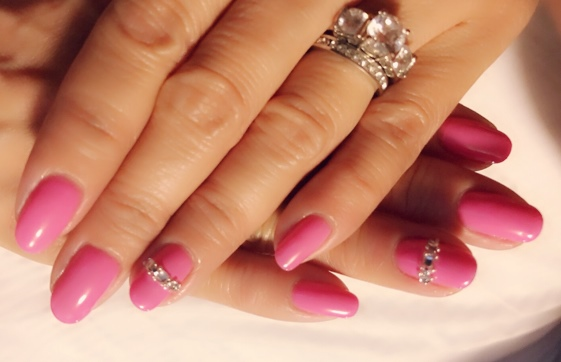 Bridesmaid Inspired Nails
