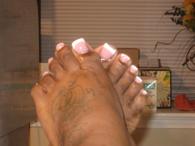 Acrylic Toes Nail Art Gallery
