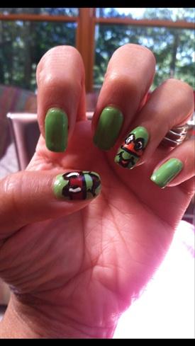 Ninja Turtle Loving Green