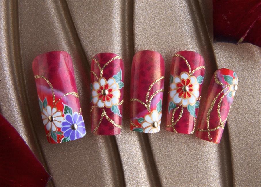 Wonderful nail art of Japan - Nail Art Gallery
