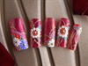 Wonderful nail art of Japan