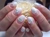 White winter nails