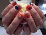 half and half on short nails