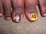Tiger and Spongebob