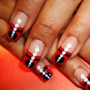 cute yet crazy new year nail art designs  nail art gallery