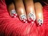 Zebra Polka Dots