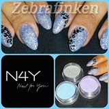 Akryl Negle med Nail Art