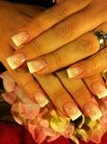 Crystals Christmas Nails