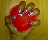 Zini Art Pink Candy Nails