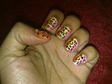Zini Art Funky Leopard Nails