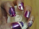 Zini Art Purple Affair Nails