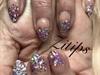 Galaxy Glitter Ombré