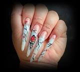 winter design nails